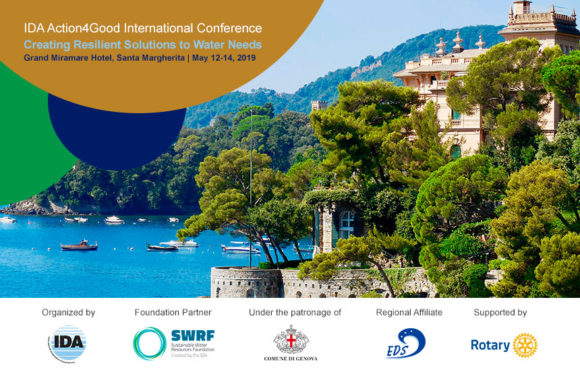 """IDA to Present Third Action4Good International Conference, """"Creating Resilient Solutions to Water Needs"""""""